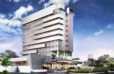3D_Facade_Vega Hotel Surabaya